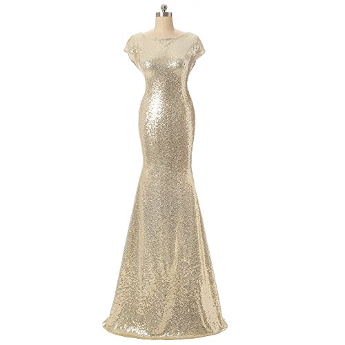 Aiyana-Gold-Mermaid-V-Neck-Backless-Long-Bridesmaid-Dresses-Wedding-Party-Gown