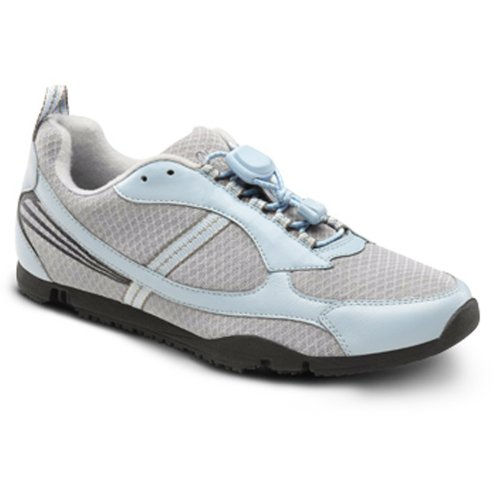 Dr Comfort Sandy Flex-OA – Women's Shoe for Knee Pain from Osteoarthritis OA Leather-and-Mesh Lace