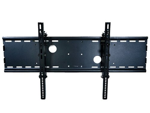Monoprice Adjustable Tilting Wall Mount Bracket For Lcd Led Plasma (Max 165Lbs, 30~63Inch) - Wide - Black