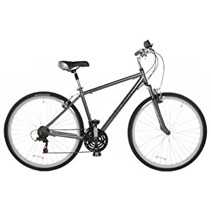 C1 Men's 700c Comfort Hybrid Bicycle Shimano 21 Speed