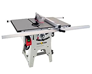 Steel city tool works 35990c 10 inch contractor table saw for 10 cast iron table saw