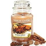 Yankee Candle Housewarmer Jar (Warm Spice) Large (22oz)