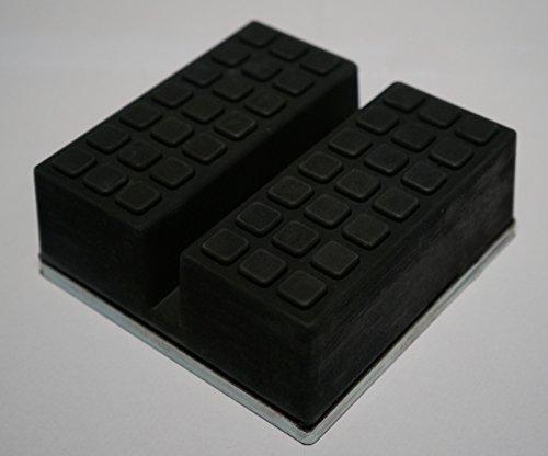 die beste gummiauflage d 65x33mm mit nut und waffel f r. Black Bedroom Furniture Sets. Home Design Ideas