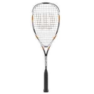 Wilson H145 Squash Racquet - White/Yellow/Grey, 27 Inch