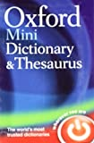 Oxford Mini Dictionary & Thesaurus