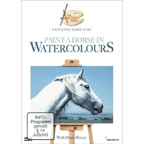 Painting Made Easy - Paint A Horse In Watercolours [DVD]