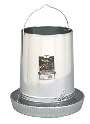 Little Giant 914043 Galvanized Hanging Poultry Feeder Tubes