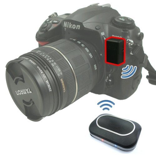 GiSTEQ C7-02PLUSN-01 Lightweight Phototrackr Plus for Nikon Digital SLR Cameras, Built-in Memory, Geotag JPEG and RAW Files