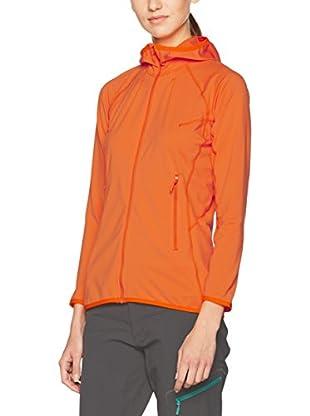 Haglöfs Sudadera con Cierre Mid Layer Stretch (Naranja)