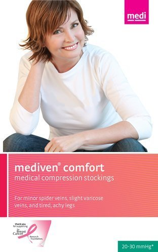Medi Comfort Compression Pantyhose 30-40mmHg Open Toe, IV, Natural by Mediven günstig online kaufen