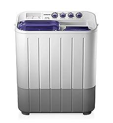Samsung WT725QPNDMPXTL Semi-automatic Washing Machine (7.2 Kg,  White and Blue)