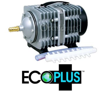 Ecoplus commercial 7 hydroponic aquarium air pump gumeritu for Hydroponic air pump