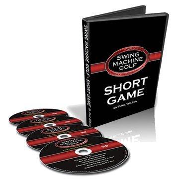 Swing Machine Golf Short Game Four DVD Set