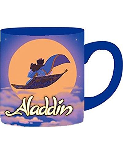 Aladdin and Jasmin Magic Carpet Ride 14 oz Ceramic Mug (Aladdin Jasmin)