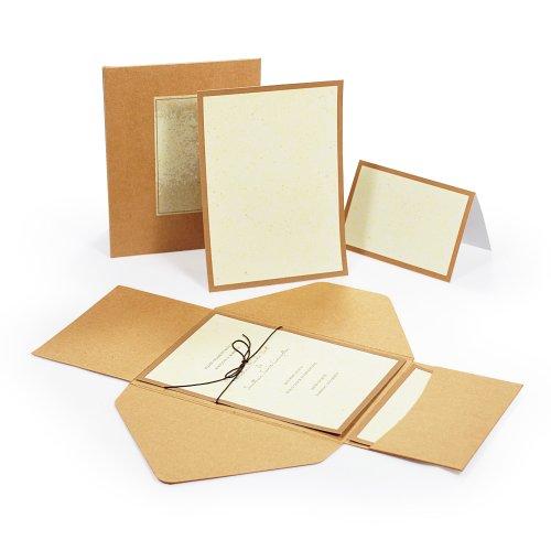 Cathy's Concepts Premium Self-Mailer Invitation Kit