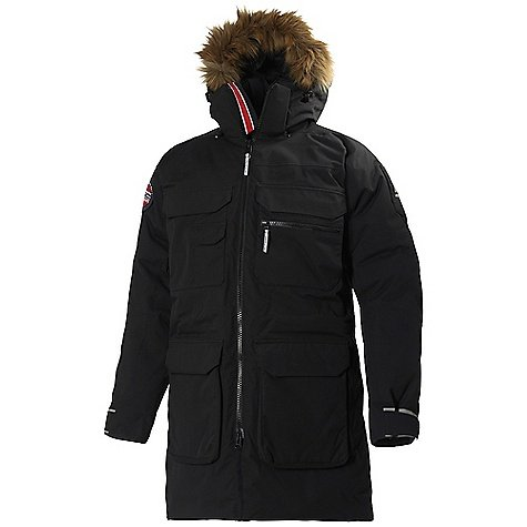 Helly Hansen New Aalesund Flow Parka - Men's Black XXL