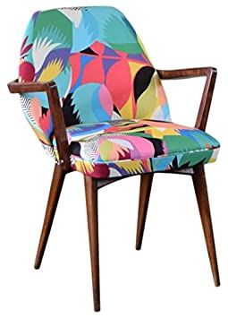 "Kitty McCall ""Tropicalia"" Bench/Chair, Wood, Multi-Colour"