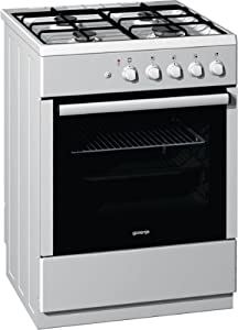 gorenje gi62123aw gasherd backofen mit 47 liter ecoclean email emailliert gas grill wei. Black Bedroom Furniture Sets. Home Design Ideas