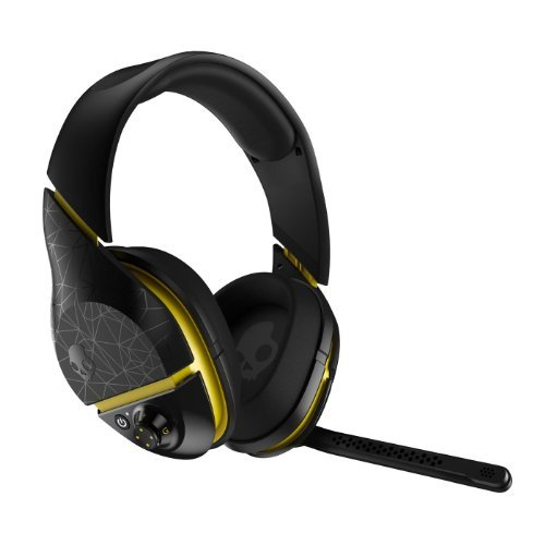 Skullcandy Plyr 2 With Mic Wireless Gaming Headphone - Black/Yellow / One Size