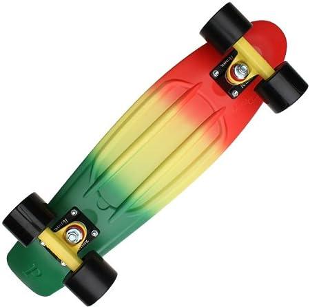 Penny Fades Skateboard Rasta 56 cm