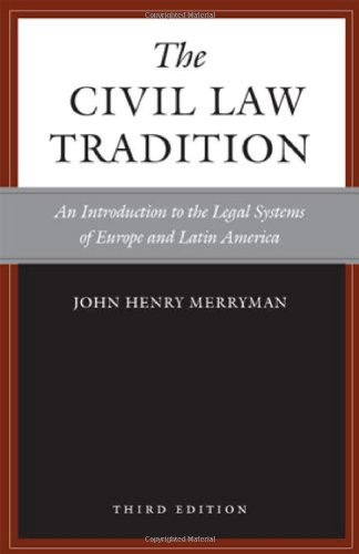 The Civil Law Tradition, 3rd Edition: An Introduction to...