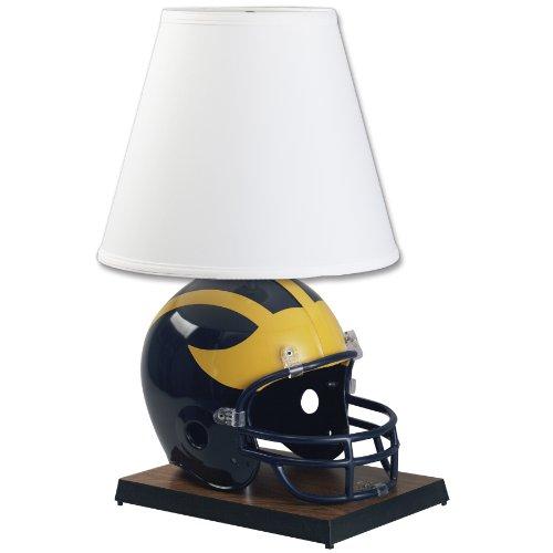 Ncaa Michigan Wolverines Helmet Lamp front-580104