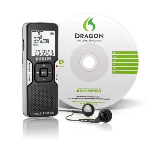 Philips LFH0667/00 Digital Voice Tracer 0662 with Dragon Naturally Speaking v. 10Philips LFH0667/00 Digital Voice Tracer 0662 with Dragon Naturally Speaking v. 10