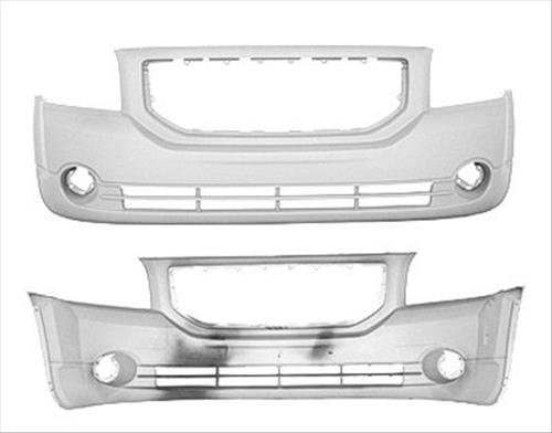 OE Replacement Dodge Caliber Front Bumper Cover (Partslink Number CH1000870) (Caliber Dodge Front Bumper compare prices)