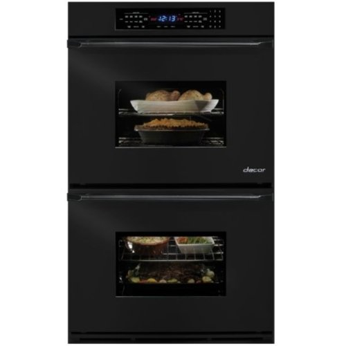 """Dacor Eors227B Classic 27"""" Black Electric Double Wall Oven - Convection front-618814"""