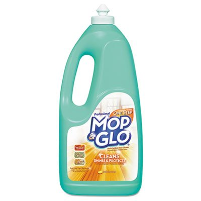 Professional MOP & GLO Triple Action Floor Shine Cleaner - Triple Action Floor Cleaner, Fresh Citrus Scent, 64 oz. Bottle (Mop And Glo Floor Shine compare prices)