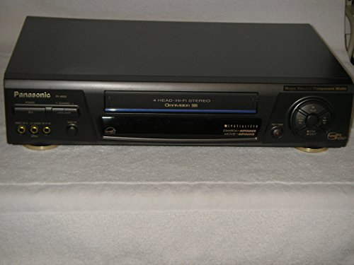 Panasonic Omnivision 4 Head Hi-Fi Stereo VCR, Model # PV-8662, Perfect! (Panasonic Omnivision compare prices)