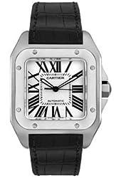 Cartier Men's W20073X8 Santos 100 XL Automatic Watch