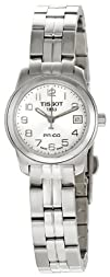 Tissot Womens T0492101103200 PR 100 Silver Arabic Numeral