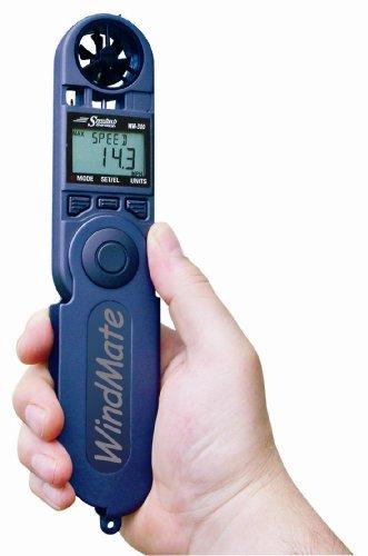 WeatherHawk WM-300 WindMate Hand-Held Weather Meter, Blue