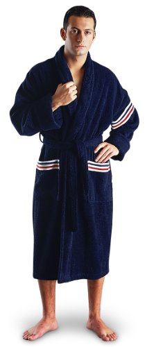 Arus Men's Champion Style Soft Turkish Cotton Bathrobe