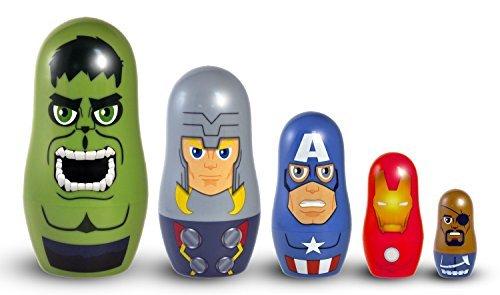 Marvel Avengers Nesting Dolls by The Avengers (Avengers Marvel Nesting Dolls compare prices)