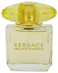 Versace Eau de Toilette Spray, Yellow Diamonds, 1.0 Fluid Ounce