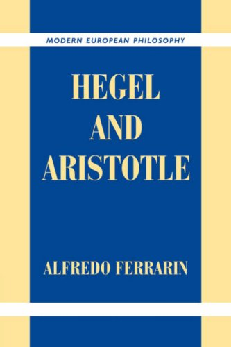 Hegel and Aristotle (Modern European Philosophy)