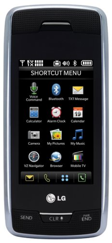LG Voyager Black Phone (Verizon Wireless)