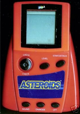 Mga Asteroids Electronic Handheld Arcade Game - 1