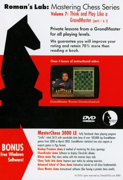 Think And Play Like A Chess Grandmaster - Vol. 7 front-330846