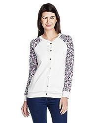 UCB Women's Jacket (16A3CH8E9687I901L_White and Multicolored)