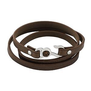 Zeeme - 389060207-58-04 - Bracelet Mixte - Acier Inoxydable 8.3 Gr - Oxyde de Zirconium