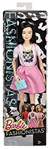 Barbie Fashionista Doll in Pink Dress