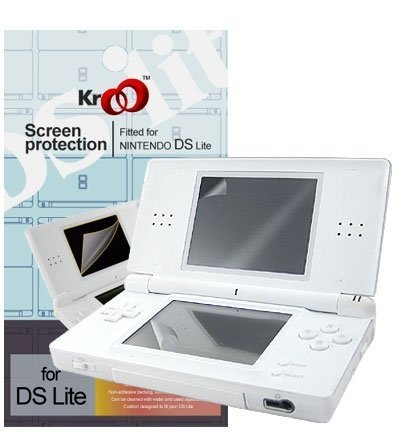 Nintendo Ds Lite Crsytal Clear Screen Protector Kit - 2 Piece of Upper and Lo...