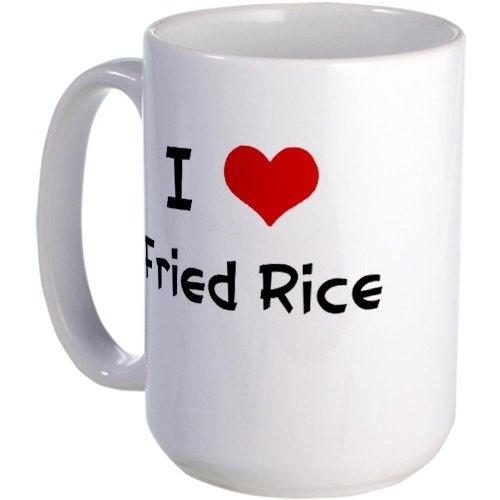 Cafepress I Love Fried Rice Large Mug - Standard
