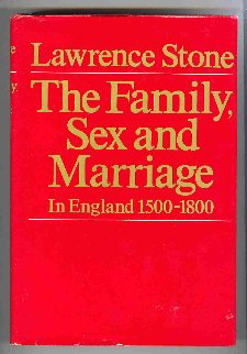 The Family, Sex and Marriage in England, 1500-1800 PDF