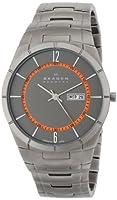 Skagen Men's SKW6008 Melbye Quartz 3 Hand Date Titanium Gray Watch by Skagen