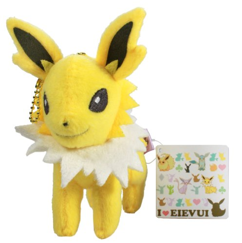 "Pokemon I Love Eevee Plush Doll - 48142 ~ 5.5"" Jolteon"