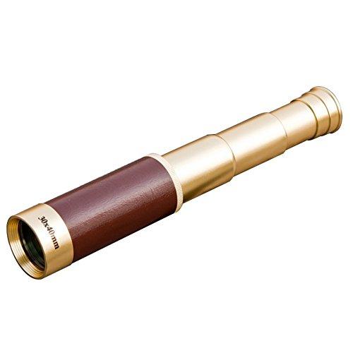 Beileshi 30X Scalable Pirate Waterproof Optical Lenses Metal Monocular